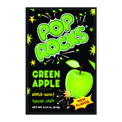 Pop Rocks Green Apple 9g