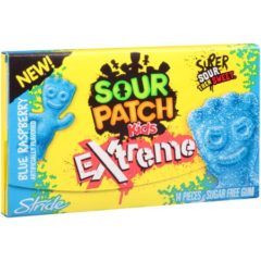 Stride Sour Patch Gum Extreme Blue Raspberry 26g