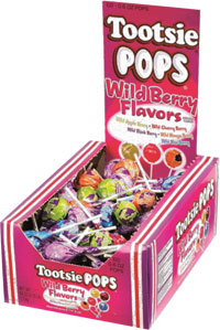Tootsie Pops Wildberry 17g