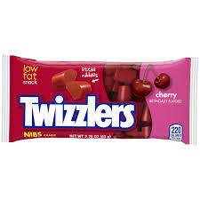 Twizzlers Cherry Nibs 63g