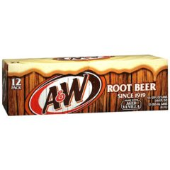 A and W Root Beer Cases of 12