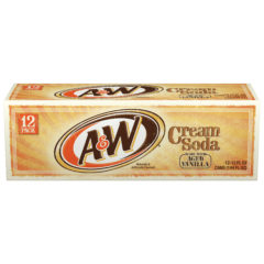 A&W Cream Soda Cases of 12