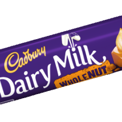 Dairy Milk Wholenut 45g