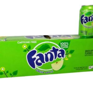 Fanta Green Apple Case of 12