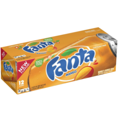 Fanta Mango Case of 12