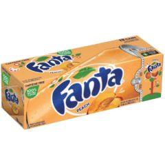 Fanta Peach Case of 12