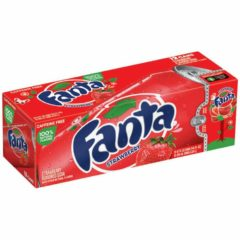 Fanta Strawberry Case of 12