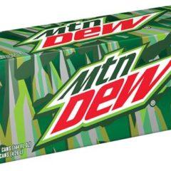Mtn Dew Green Case of 12