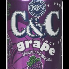 C&C Grape 12 FL OZ 355ml