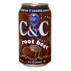 C&C Root Beer 12 FL OZ 355ml