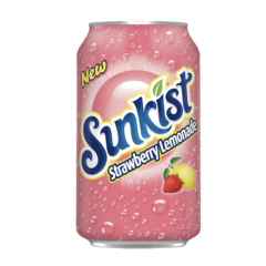 Sunkist Strawberry Lemonade 355ml