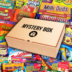 American Candy and Snacks Mystery Box Care Package