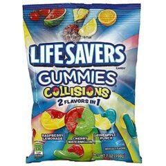 Lifesavers Gummies Collision 198g Peg Bag