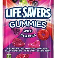 Lifesavers Gummies Wild Berries 198g Peg Bag