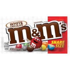 M&M White Chocolate Share Size 70g