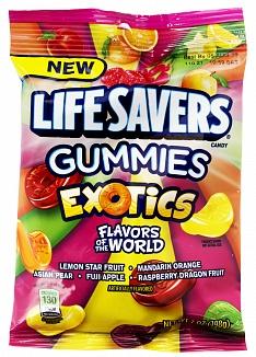 Lifesavers Gummies Exotics 198g Peg Bag