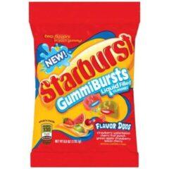 Starburst Gummi Bursts Duo's Peg Bag 170g