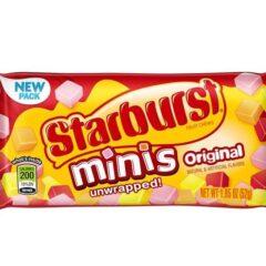 Starburst Mini Original 52g